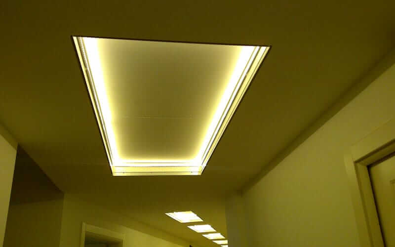Illuminazione led controsoffitto fratelli fontana for Led controsoffitto